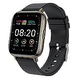 Smartwatch, Orologio Fitness Uomo Donna, 1.69 Pollici Touch Screen Completo Smart Watch con Cardiofrequenzimetro da Polso Contapassi Sportivo Activity Tracker Fitness, Tracker Sport IP67 Impermeabile