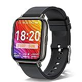 Smartwatch Orologio Fitness Tracker Uomo Donna, 1.69 pollici Activity Tracker, Impermeabile IP68 smart watch, 24 Modalità di Allenamento, 24 ore Cardiofrequenzimetro Sonno Monitoraggio Contapassi