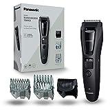 Panasonic ER-GB62-H503 Regolabarba Uomo e Tagliacapelli per la Cura di Barba, Capelli e Corpo, Taglio 1-20 mm, Lame in Acciaio Inox, 3 Pettini Accessori, Lavabile