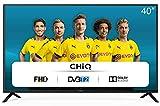 TV LED LCD Full HD 40'' CHiQ L40G4500, 40 pollici (101 cm), triple tuner (DVBT/T2/C/S2), riproduttore multimediale tramite porta USB, audio Dolby, 3 HDMI, 2 USB, Direct LED [classe energetica G]