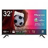 Hisense 32AE5000F TV LED HD 32', Bezelless, USB Media Player, Tuner DVB-T2/S2 HEVC Main10 [Esclusiva Amazon - 2020]