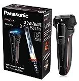 Panasonic ES-LL21-K503SH Rasoio Elettrico per Barba Wet&Dry, Rasatura Potente e Delicata, Ricaricabile, senza Fili, 3 Lame, Display LED, Japanese Blade Tech