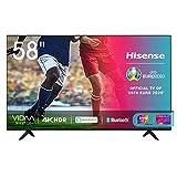 Hisense 58AE7000F, Smart TV LED Ultra HD 4K 58', HDR 10+, Dolby DTS, con Alexa integrata, Tuner DVB-T2/S2 HEVC Main10 [Esclusiva Amazon - 2020]