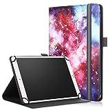 Acelive Cover Custodia Universale con Supporto per Tablet 7-8 Pollici (per VANKYO MatrixPad Z1/S7 7'/S8 8', Lenovo Tab M8/M7, LAMZIEN 7', Haehne 7')