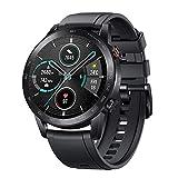 HONOR Smartwatch Magic Watch 2 Orologio Fitness Tracker Uomo Donna Smart Watch, 5 ATM Smart Watch Cardiofrequenzimetro da Polso Pressione Smartband, GPS, 46 mm, Chiamata Tramite Bluetooth, Matte Black