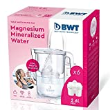 BWT Caraffa da acqua filtrante, con magnesio, modello vita manuale + set di 6filtri BWT Magnesium Mineralizer