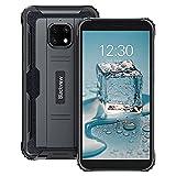 Rugged Smartphone,Blackview BV4900 Pro Cellulare Antiurto con 5.7 Pollici, 4GB RAM+64GB ROM Octa-core,5580mAh Batteria,13MP+5MP,Android 10 Telefoni Cellulari 4G, NFC/GPS/OTG Dual SIM Telefono-Nero