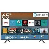 Hisense H65BE7000 Smart TV LED Ultra HD 4K 65', HDR, Dolby DTS, Slim Design, Tuner DVB-T2/S2 HEVC Main10 [Esclusiva Amazon - 2019]