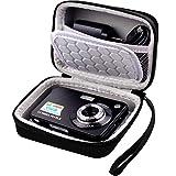 Borsa per fotocamera digitale compatibile con AbergBest 21 Mega Pixels 2.7' LCD ricaricabile HD digitale per studenti fotocamere, per interni ed esterni per adulti/anziani/bambini (nero)