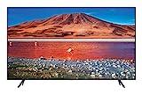Samsung TV UE55TU7190UXZT Smart TV 55' Serie TU7190, Crystal UHD 4K, Wi-Fi, 2020,Argento, compatibile con Alexa